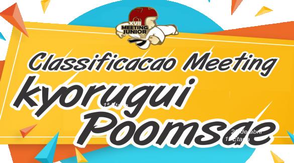 CLASSIFICAÇÃO MEETING JUNIOR 2019