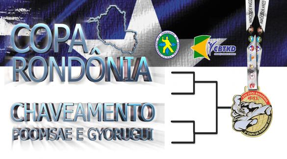 COPA RONDÔNIA 2019 - POOMSAES PARA AS DISPUTAS