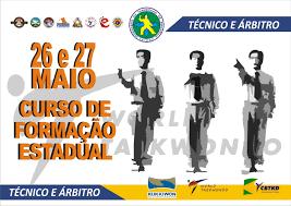 CURSO DE FORMAÇÃO ESTADUAL DE ÁRBITROS E TÉCNICOS